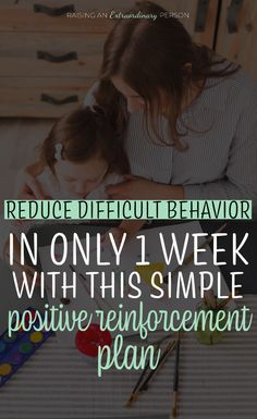 Positive reinforcement has many benefits for kids - when it's done right! This simple positive reinforcement plan targets specific difficult behaviors you're dealing with and improves them in as little as one week. Its easy and effective. Positive Reinforcement Kids, Positive Behavior, Positive Discipline, Behavior Plans, Toddler Behavior, Behavior Charts, Gentle Parenting, Parenting Hacks, Positive Affirmations For Kids