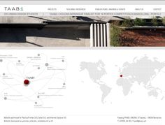 Web de l'estudi d'arquitectura Taab6.
