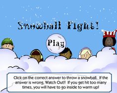 Least Common Multiple Game - Snowball Fight! Teacher Prayer, School Prayer, Math Quizzes, Math Games, Maths, Least Common Multiple, Prayer For Parents, Math Boards, Addition Games