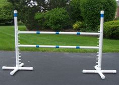 Making a Dog Agility Competition Jump | D-I-Y Dog Agility Obstacle ...