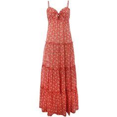 Denim and Supply Ralph Lauren Sleeveless maxi tier floral dress