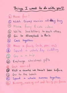 this can go to my future husband! this can go to my future husband! Perfect Boyfriend List, Things To Do With Your Boyfriend, Boyfriend Bucket Lists, Cute Boyfriend Gifts, Boyfriend Goals, Future Boyfriend, Boyfriend Ideas, Relationship Bucket List, Relationship Texts