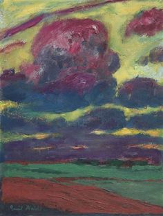 Emil Nolde, Clouds - 1918