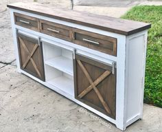 Farmhouse TV Stand, Tv Stand with Drawers, Rustic TV Stand, Farmhouse Tv Console, Barn Door Tv Stand – Top Trend – Decor – Life Style Decor, Diy Furniture, Tv Console, Barn Wood, Home Decor, Farmhouse Furniture, Rustic Tv Stand, Barn Door Console, Farmhouse Tv Console