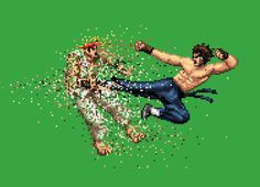 """""""Dead Pixels"""" - Threadless.com - Best t-shirts in the world  THE KICK OF DEATH!!"""