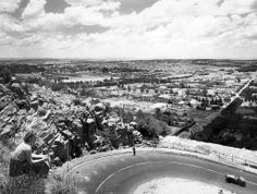 A View of the Northern Suburbs of Johannesburg Johannesburg City, Water Sources, African History, Public Art, When Us, Old Photos, South Africa, Cities, Nostalgia