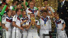Alemania campeón del Mundial Brasil 2014
