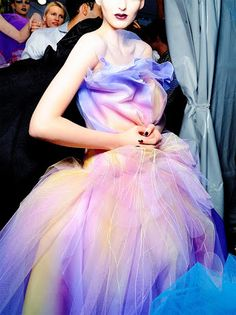 Christian Dior Haute Couture Fall 2010  Love the beautiful colour!! Pinky Prom Dress - Google+