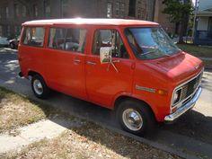 The Guy in The Creepy Van: 1972 Chevy Sportvan 10