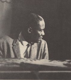 Memphis Slim and his piano.