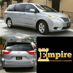 Congratulations Dear Hasmik & Robert on your Brand New Toyota Sienna.  Enjoy your new ride and welcome to the Empire Auto Family.  #empireauto #new #car #lease #purchase #finance #refinance #newcarlease #newcarfinance #leasingcompany #customerservice #GlenoaksBlvd #glendale #brokerage #autobrokersales #autobroker #autobrokers #wholesaler #freeoilchange #freemaintanance #2016toyotasiennale