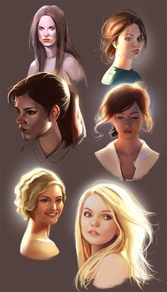 Heads and lighting practice/How to light your bust 1 by Kasia on Tumblr