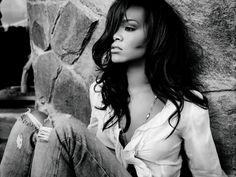 old black and white celebrity photography | Steal Rihanna's Fashion Style Without Breaking the Bank! | Fashion ...