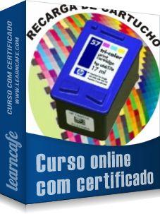 CURSO RECARGA DE CARTUCHO - CURSO DE RECARGAS DE CARTUCHOS     Recarga de Cartuchos HP 22 - 28 - 57 - 59 - 93 -- 95 -      VENHA GANHAR DINHEIRO COM ESTE CURSO !!!!!!!!!!!!!!!!!!!!!!!!!!!!!!!!!!!      É UM INVESTIMENTO QUE VALE A PENA E VOCÊ TERÁ RETORNO.