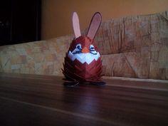 velikonoční zajíc - falešný patchwork