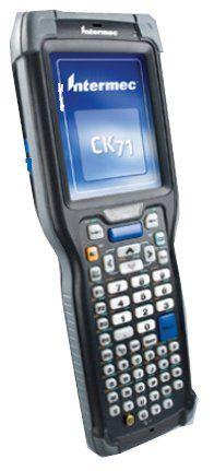 Intermec CK71AA6EN00W1110 CK71 Ultra-Rugged Mobile Computer, Alpha Keypad, 5603ER Scanner, No Camera, WLAN, WEH 6.5, WW English. Alphanumeric Keypad. 5603ER Scanner. WEH 6.5 model. No Camera.