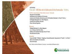"""#Pergamino   Invitación: """"200 Años de la Sublevación de las Fontezuelas""""  Viernes 10 de Abril a las 10 hs Plaza Gabino Coronel / Fontezuela"""