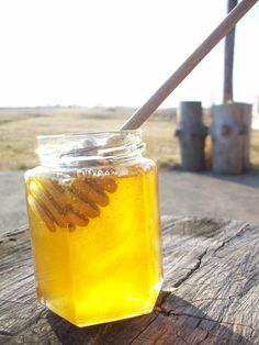 We used to have beehives on our property where we made our own honey...miss this!