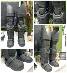 Batman DoJ Armor legs made with EVA foam. #batman #batmanvssuperman #doj…