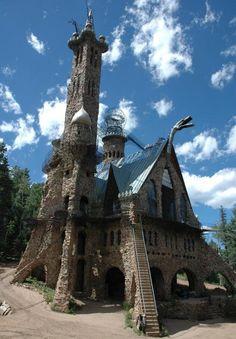 Bishop Castle in Colorado.