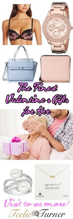 Teelie's Top Pick Gifts for Her this Valentine's Day. Gift it: www.teelieturner.com #ValentinesDay