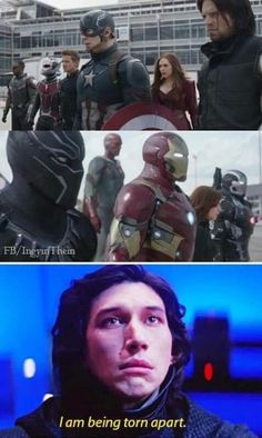 I'm Team Cap all the way, but I love most of the characters on Team Iron Man, SO THIS HURTS.