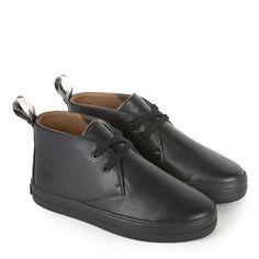 Leather derbies