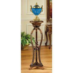 Floral Bouquet Pedestal Table