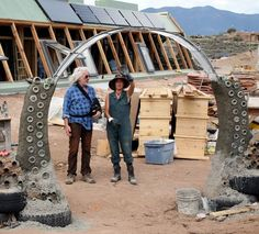"""Meet the extraordinary environmentalist and architect who is most famous for the """"Earthship Biotecture"""", an architectural building design that aims to create sustainable and eco-friendly homes to reduce stress and make living more comfortable and at the same time benefiting the environment, Michael """"Mike"""" Reynolds. """"If you walk the talk, you don't have to talk that much."""" Mike Reynolds http://thextraordinary.org/mike-reynolds"""
