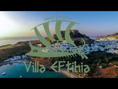 Luxury Villa Eftihia in the heart of Lindos - YouTube