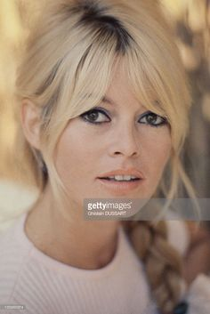 Brigitte Bardot, french actress, 1963 in Rome, Italy.