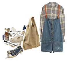 """""""#303"""" by sappyholygirl ❤ liked on Polyvore featuring Alexander Wang, Julie Fagerholt Heartmade and Converse"""