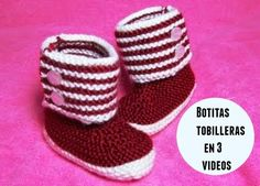 botitas tobilleras tutoriales en video