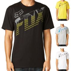 2015 Fox Racing Mens Short Sleeve Torch Pass Basic Tee Casual Shirt Top