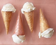 Sparkly Ice Cream Cones | Community Post: 23 Magical Desserts That Literally Sparkle