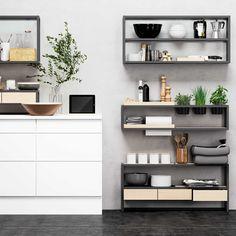 HTH FrameFlexID� Double Vanity, Floating Shelves, Office Desk, Furniture, Kitchen Inspiration, Home Decor, Kitchens, Dreams, Amp