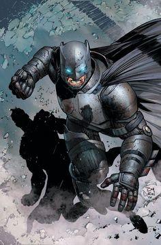 Batman por Tony Daniel. Fonte no site.