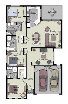 The Savannah 224 offers plenty of living space.