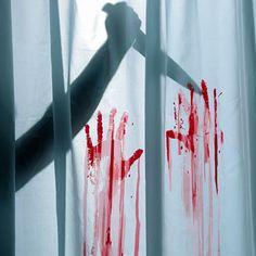 "Psycho Shower Curtain & Bath Mat.    ""We all go a little mad sometimes.""  -Norman Bates"
