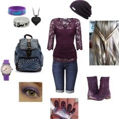 """First day back to school"" by kaylaike on Polyvore"