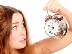 Unhappy girl waking up too late. And looking at the alarm clock. Isolated over w , Fitness Facts, Fitness Diet, Study Site, Herald News, Always Late, Work Productivity, Zara, Prepositions, Workout Schedule