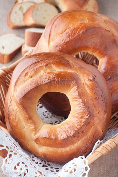 Traditional Azores Round Sweet Breads - Rosquilhas