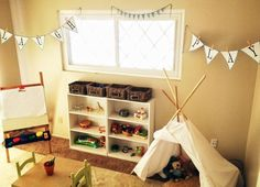 A Montessori Inspired Play Room for Brothers My Play Room montessori playroom