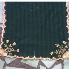 Embroidery Suits Punjabi, Zardozi Embroidery, Hand Embroidery Flowers, Embroidery On Clothes, Embroidery Fashion, Embroidery Dress, Indian Embroidery Designs, Embroidery Suits Design, Machine Embroidery Designs