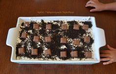 Σοκολατένιο γλυκό ψυγείου με cream crackers - cretangastronomy.gr Cream Crackers, Waffles, Food And Drink, Breakfast, Desserts, Morning Coffee, Tailgate Desserts, Deserts, Waffle