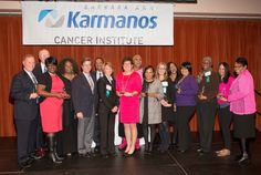 Heroes of Breast Cancer Event. Karmanos Cancer Institute recognized outstanding individuals and organizations at its 22nd annual Heroes of Breast Cancer Awards event, held Oct. 26 in Detroit. More than 200 guests came to celebrate this year's honorees for their demonstrated leadership in raising awareness of breast cancer prevention, early detection, research breakthroughs and inspirational stories.