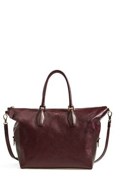 5074b195411 Tod's 'ALR Tracolla Piccola' Leather Shopper available at #Nordstrom Louis  Vuitton Speedy Bag