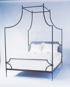 Campaign bed from Neirmann Weeks