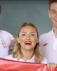 Velike muzičke zvezde ujedinile su se kako bi snimile himnu za sportiste koji će braniti boje Srbije na Olimpijskim igrama u Rio de Žaneiru, koja se zove Kuća heroja