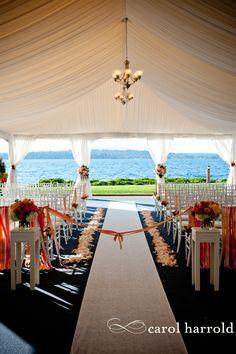 Seattle area wedding venue on Lake Washington - Woodmark Hotel